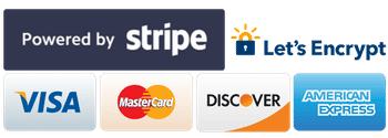 SkyrocketWP Payments Powered by Stripe & Secured by Let's Encrypt SSL